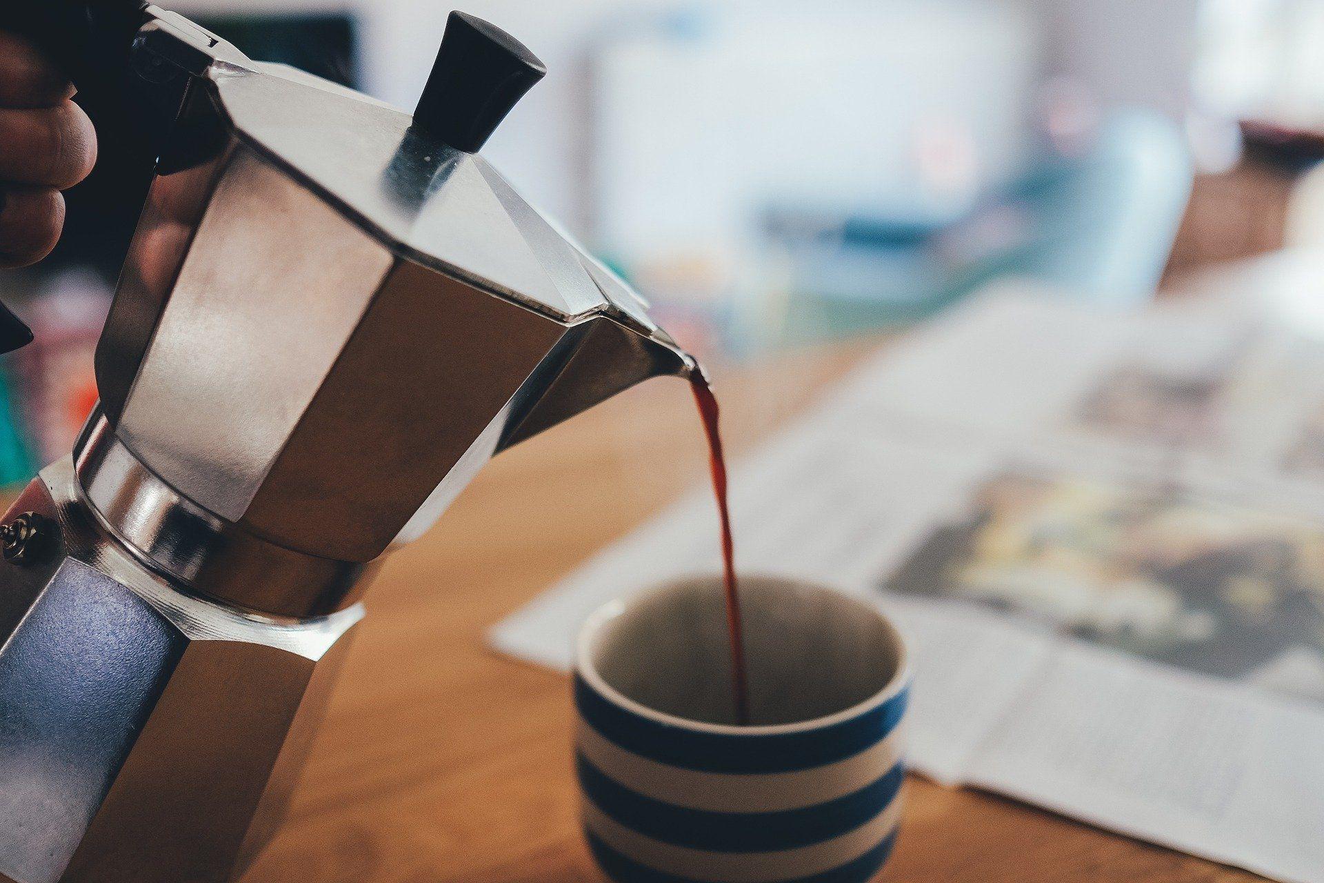 Z magnezijem je bogata tudi kava.