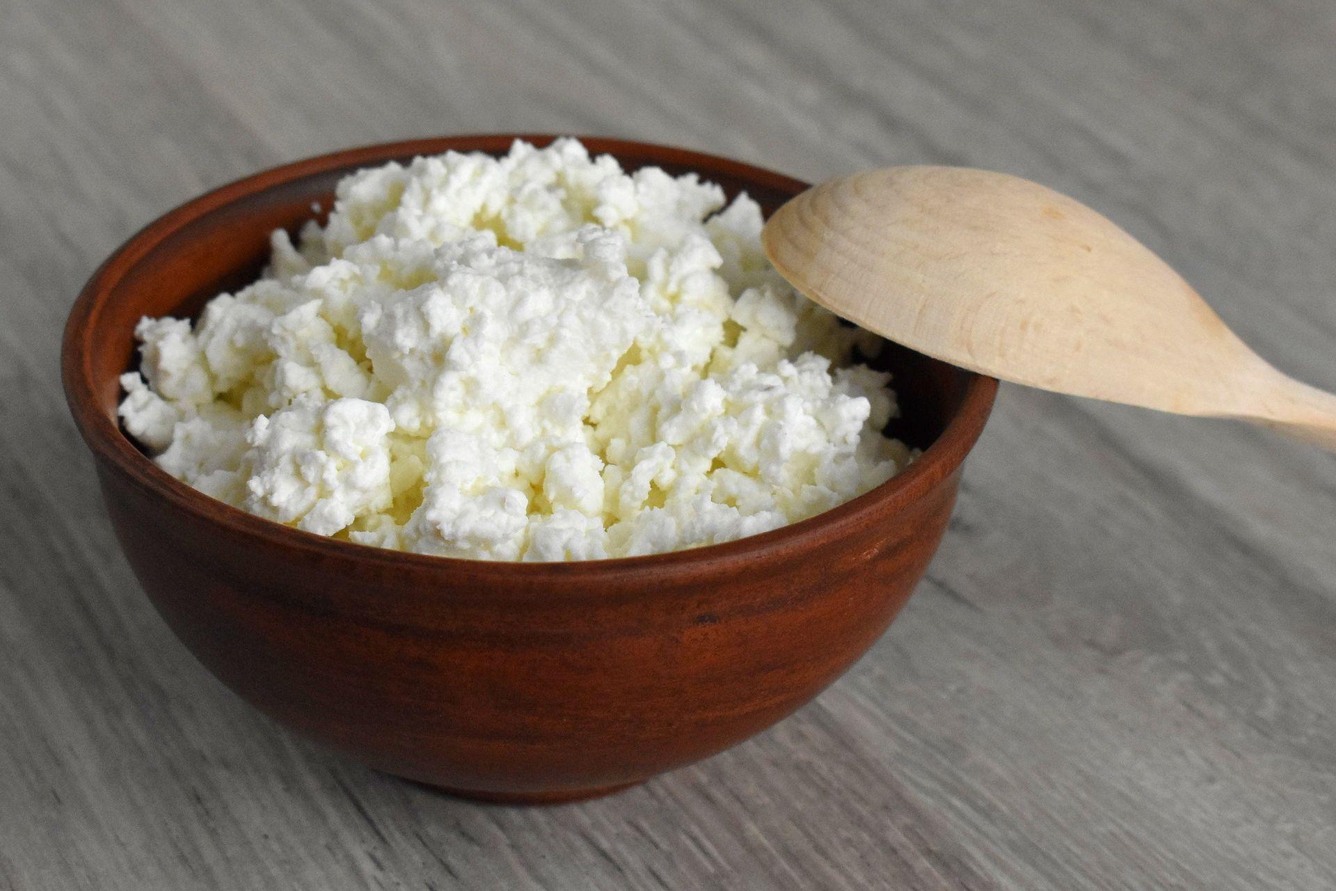 Fermentirani mlečni izdelki, kot je skuta, so tudi bogati s probiotiki.