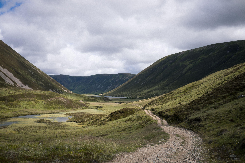 Letos je bikepackala na Škotskem.