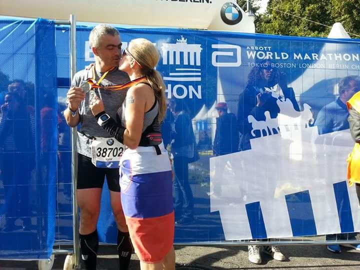Pri 42 letih je – prvič in zadnjič, pravi – pretekla 42 kilometrov na 42. Berlinskem maratonu.